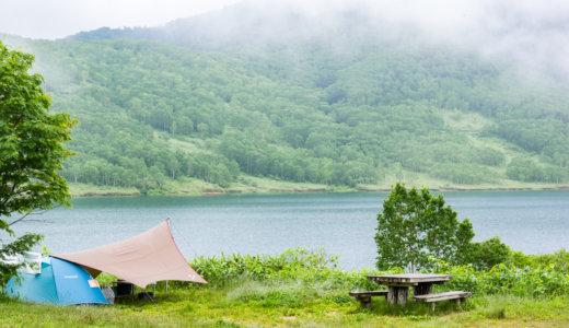 野反湖キャンプ場の魅力をオリジナルサイトマップで紹介