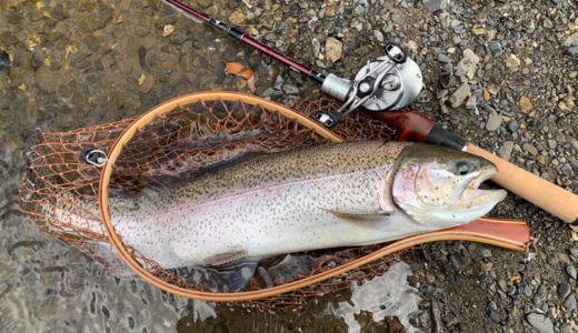 【川の駅特設釣り場@神流川】休日でも貸し切りでルアーフィッシングが堪能できる贅沢な渓流釣り場