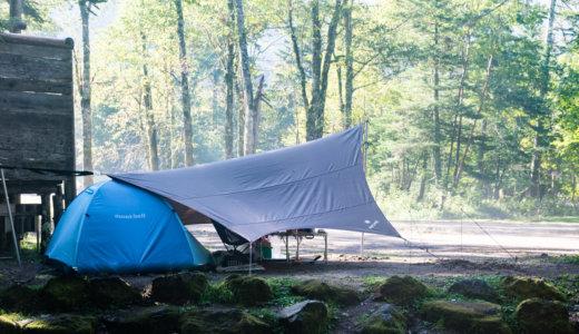 菅沼キャンプ村でテント泊|はじめて行く人のためにオリジナルマップで詳細解説