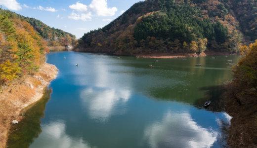 東古屋湖でトラウトルアーフィッシング|おかっぱりフィールドをオリジナルマップで紹介
